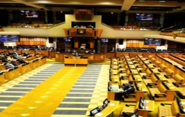 This is the process of the vote of #NoConfidence