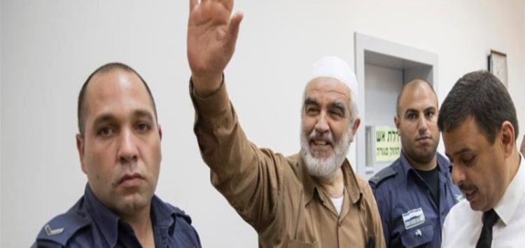 Israel charges Raed Salah with incitement