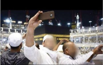 Hajj and selfies