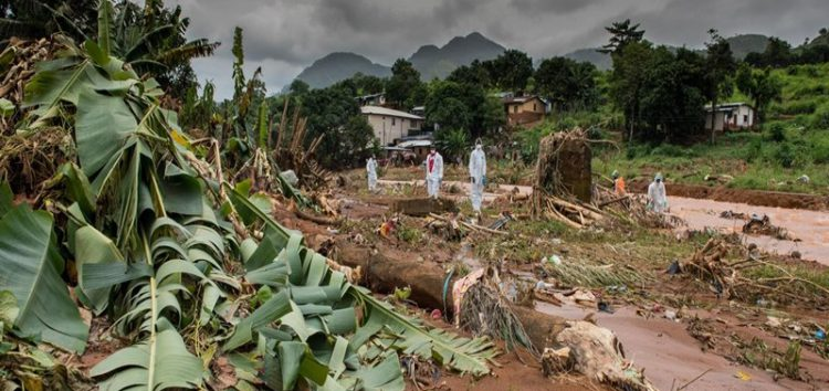 After Sierra Leone's deadly mudslides, the race is on to retrieve the body parts of the victims before disease sets in