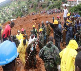 Nearly 400 bodies recovered from Sierra Leone mudslides