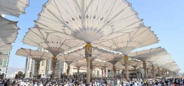 World's largest umbrellas to be installed at Masjidul Haram,Makkah