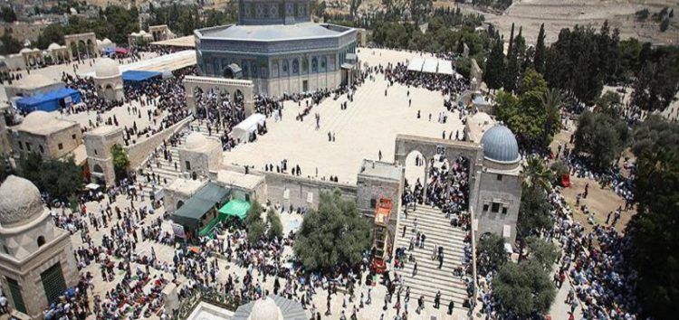 Number of Israeli settlers that stormed Al Aqsa Mosque in August close to 4000