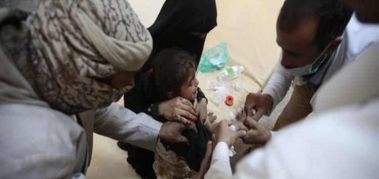 Yemen's cholera epidemic hits 600,000