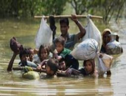 Bangladesh flash floods adds to the woes of Rohingya Muslims