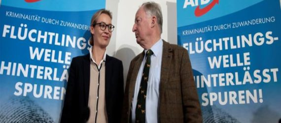 German Far Right Party AfD attacks Islam and refugees