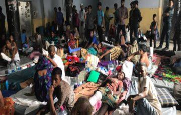UN estimates 480,000 in latest Rohingya exodus to Bangladesh as hospitals struggle to cope