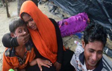 Rohingya is burning