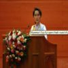 World leaders, NGOs and fellow peace prize winners speak out over Aung San Suu Kyi