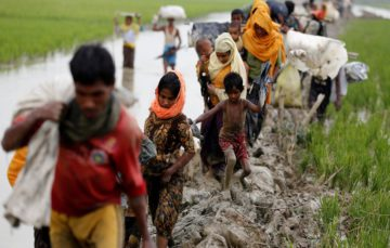 Rohingya boy's leg blown off as Myanmar lays landmines near border