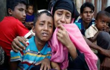 Hindus join Rohingya Muslims to seek refuge from deadly violence in Myanmar