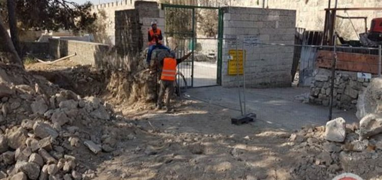 Israel demolishes parts of Palestinian cemetery in Jerusalem