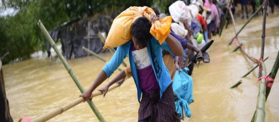Two Rohingya children, woman killed in aid stampede