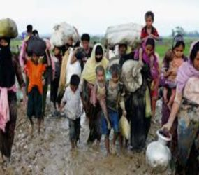 Rohingya Muslims being wiped off Myanmar's map