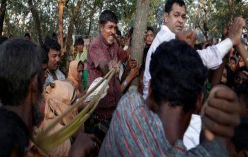 Chaos all around at Rohingya camps