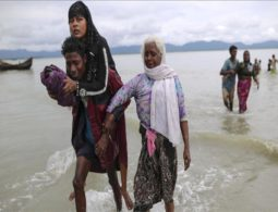 Elderly Rohingya die on the way or arrive sick to camp