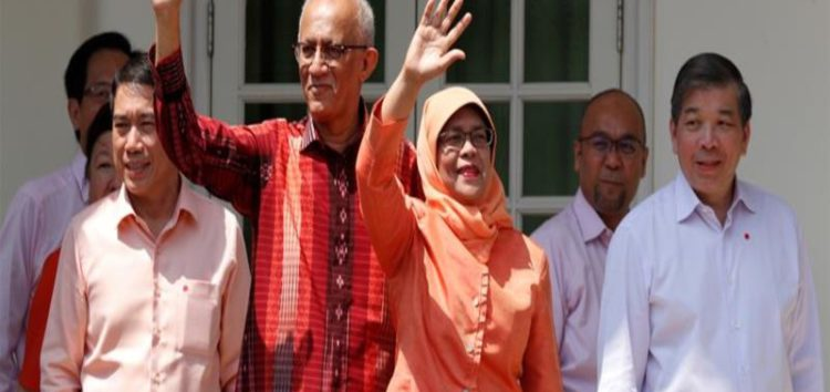 Halimah Yacob named Singapore's first Malay president in 'walkover' election