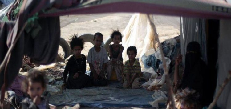 Yemen families forced to live in caves due to war