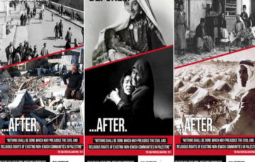 Palestinian campaign raising awareness about impact of 1917 declaration banned from London transport network
