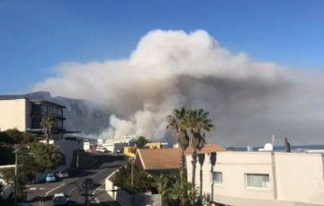 Kramat burnt in raging Cape Town wildfire