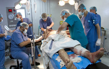 Salvaging bodies: A day in the life of a doctor in Syria