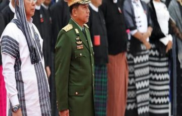 Myanmar army chief says Rohingya Muslims not native, refugee numbers exaggerated