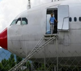 Pilot revives crashed plane as aviation museum in the hope that it inspires young minds