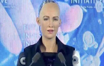 Saudi Arabia becomes first country to grant citizenship to a robot