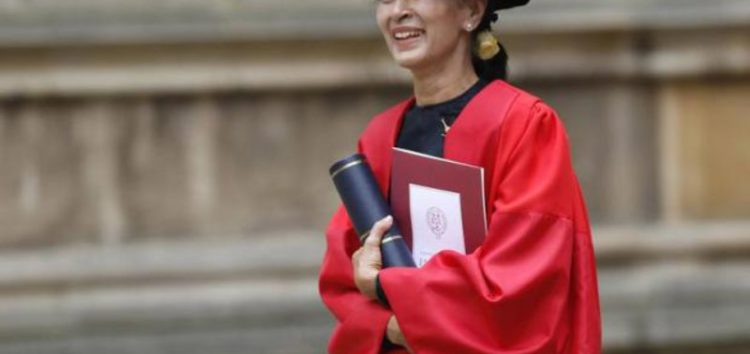 Aung San Suu Kyi to be stripped of Freedom of Oxford for inaction in the face of atrocities against Rohingya Muslims