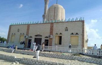 Egypt mosque-attack imam vows to finish sermon