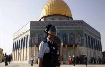 Israel to set up special police force for Al-Aqsa