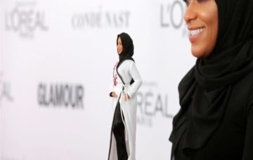 Barbie releases the first hijab-wearing toy  #Hijarbie