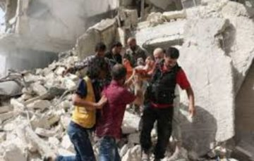 Aleppo under heavy bombardment again