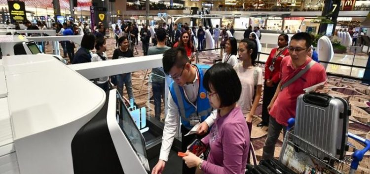 It's all automated from check-in to boarding at Singapore's contactless airport terminal