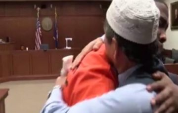 Courtroom reduced to tears as Muslim father forgives his son's murderer