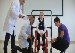Portable exoskeleton for disabled children unveiled