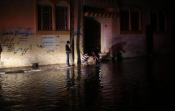 Heavy rainfall leads to floods in Gaza
