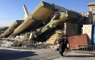 More than 300 killed as 7.3 magnitude quake rocks Middle East