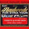 Blessed Jumuah Special #NasheedsforSyriaTour