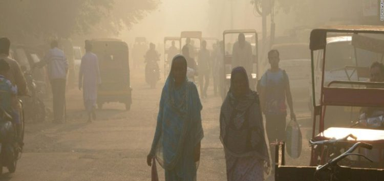 Health emergency declared, as New Delhi is engulfed in smog