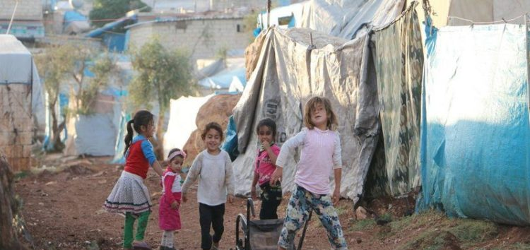 8 out of 10 children in Syria are 'children of war'