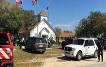 Largest mass shooting in US history: 26 killed and scores injured as young white terrorist opens fire at Texas church