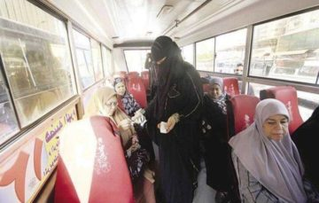 Egypt launches women-only buses