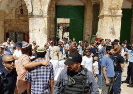 100 Israel violations of Al-Aqsa, Ibrahimi mosques in November