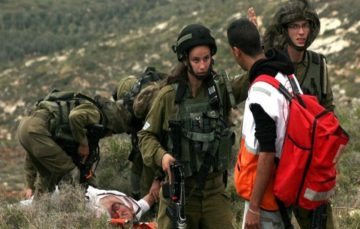 Israeli forces attack medical teams in Palestine