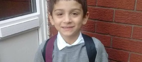 7 year old boy 'froze to death' after being left outside his home