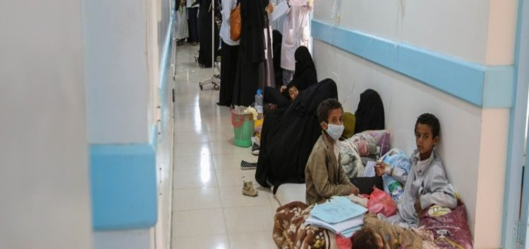 WHO: Suspected cholera cases in Yemen surpass 960,000