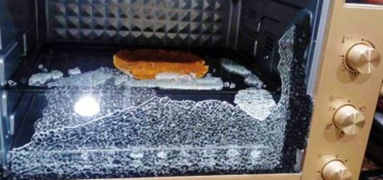 Oven blast leaves family in a shock