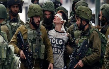 Palestinian teen released on bail, bruised and abused