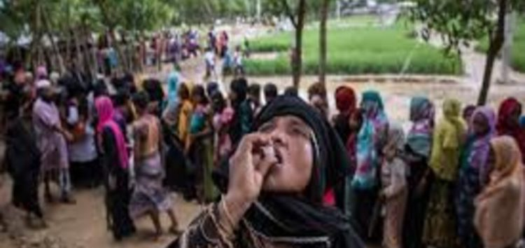 Diphtheria outbreak in Rohingya refugee camps expected to double every few days